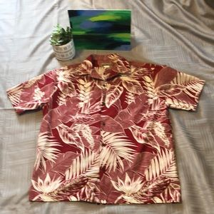 Blue Hawaii Hawaiian red shirt XL